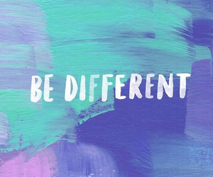different, be, and colors image