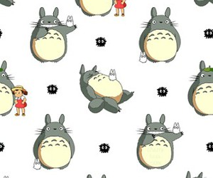 totoro, anime, and background image