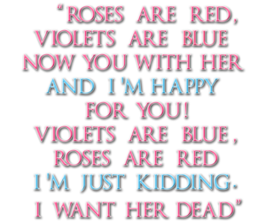 blue, text, and violets image