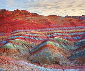 mountains, nature, and color image