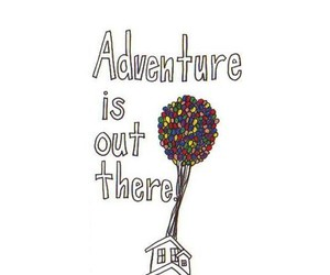 adventure, up, and balloons image