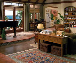 house, interior, and two and a half men image