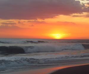 beach, sky, and Nicaragua image