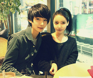 boy, ulzzang, and korean couple image