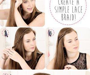 hair, braid, and tutorial image