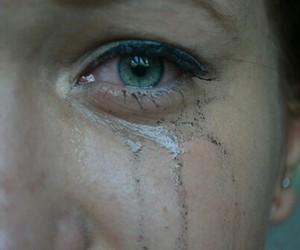 sad, tears, and cry image