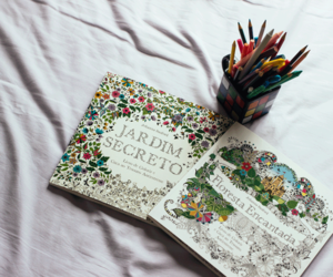 book, colorful, and coloring book image