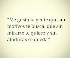 frases, me gusta, and quiere image