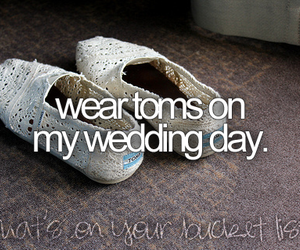 toms and wedding image