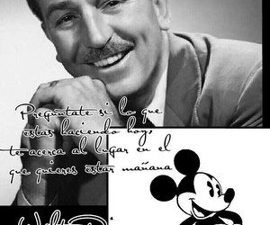disney, frases, and mickey image