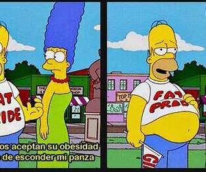 funny, frases en español, and los simpsons image