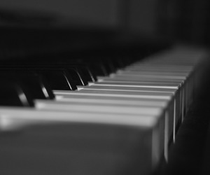 black, black and white, and instrument image