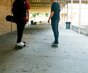 boy, skate, and cool image