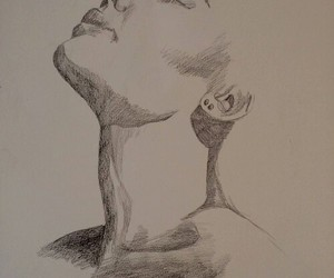 drawing, face, and makeup image