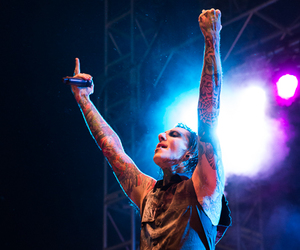 bands, motionless in white, and chris motionless image