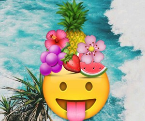 emoji, smile, and summer image