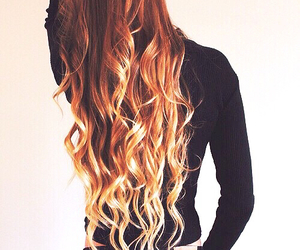 blonde, redhead, and ombre hair image