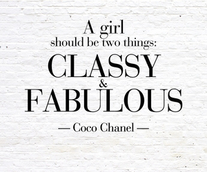 classy, fabulous, and coco chanel image