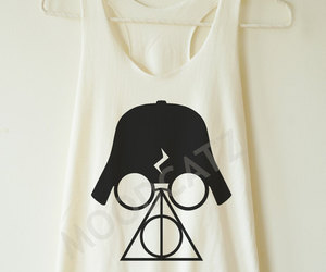 darth vader, deathly hallows, and gym image