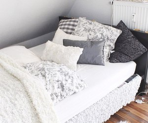 bed, style, and fashion image