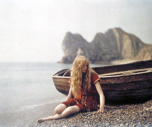 boat, seaside, and shore image