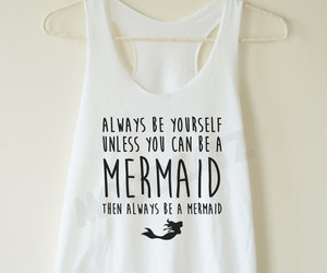 mermaid and fashion image