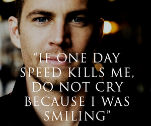 paul walker, rip, and speed image