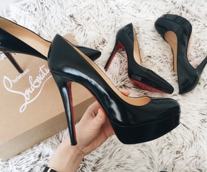 heels and christian louboutin image