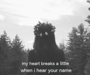 breaks, heart, and lost image