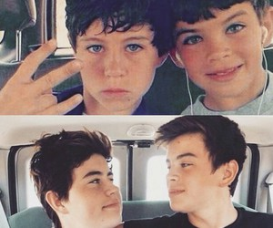 cute, nash grier, and hayes grier image