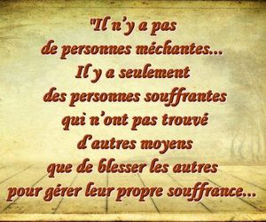 mots, words, and souffrance image