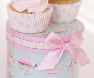 cupcake, food, and pastel image