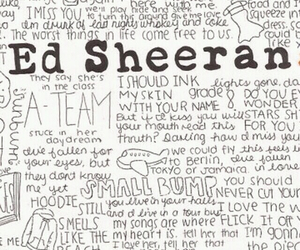 music, ed sheeran, and wallpaper image