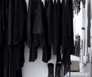 black, clothes, and style image