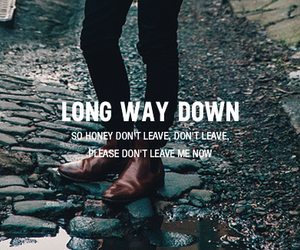 long way down and tom odell image