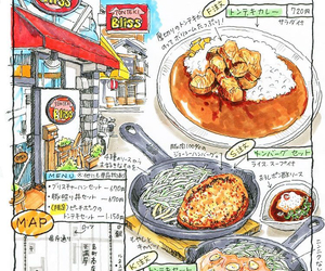 food and food illustrations image