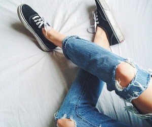 cool, vans, and girl image