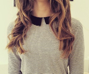 curls, vintage, and girl image