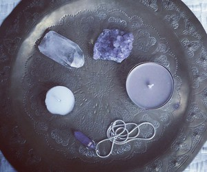 amethyst, crystal, and occult image