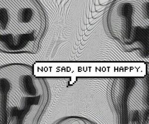 sad, grunge, and black and white image