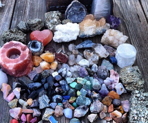 stone, colors, and crystal image
