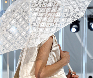 fashion, Louis Vuitton, and runway image
