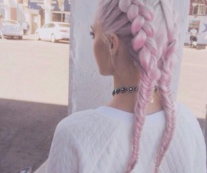 dye, grunge, and hairstyle image