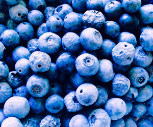 food, healthy, and blue image