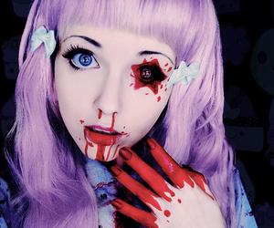 blood, kawaii, and pastel goth image