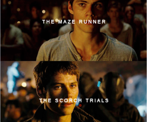 the scorch trials, the maze runner, and dylan o'brien image