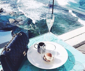 chanel, bag, and sea image