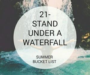 bucket, summer, and list image