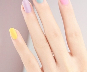 nails, pastel, and pretty image
