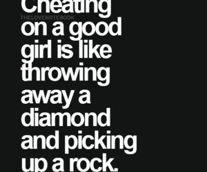 cheating, girl, and quotes image